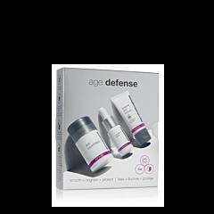 AGE Defense Kit: Ce kit contient les gestes essentiels de la routine de soin du visage des peaux matures.