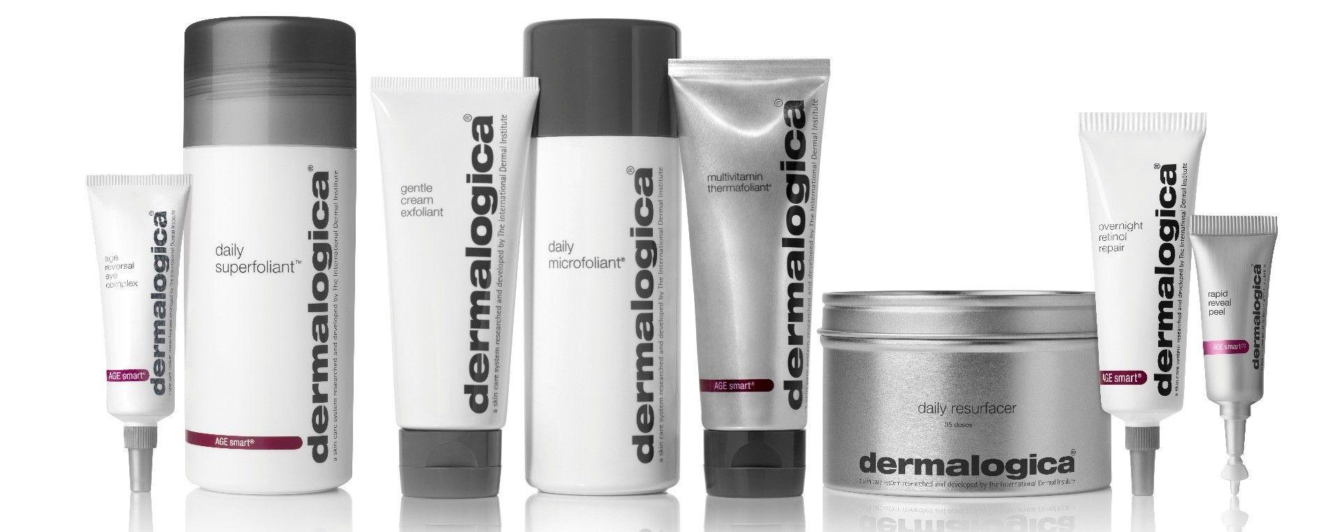 Overzicht Dermalogica exfoliant producten